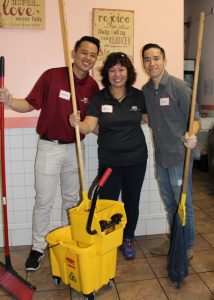 Haarell Janer, (tax/accounting); Jennie Yu, WCC audit manger; and Donald Alanis, (audits)